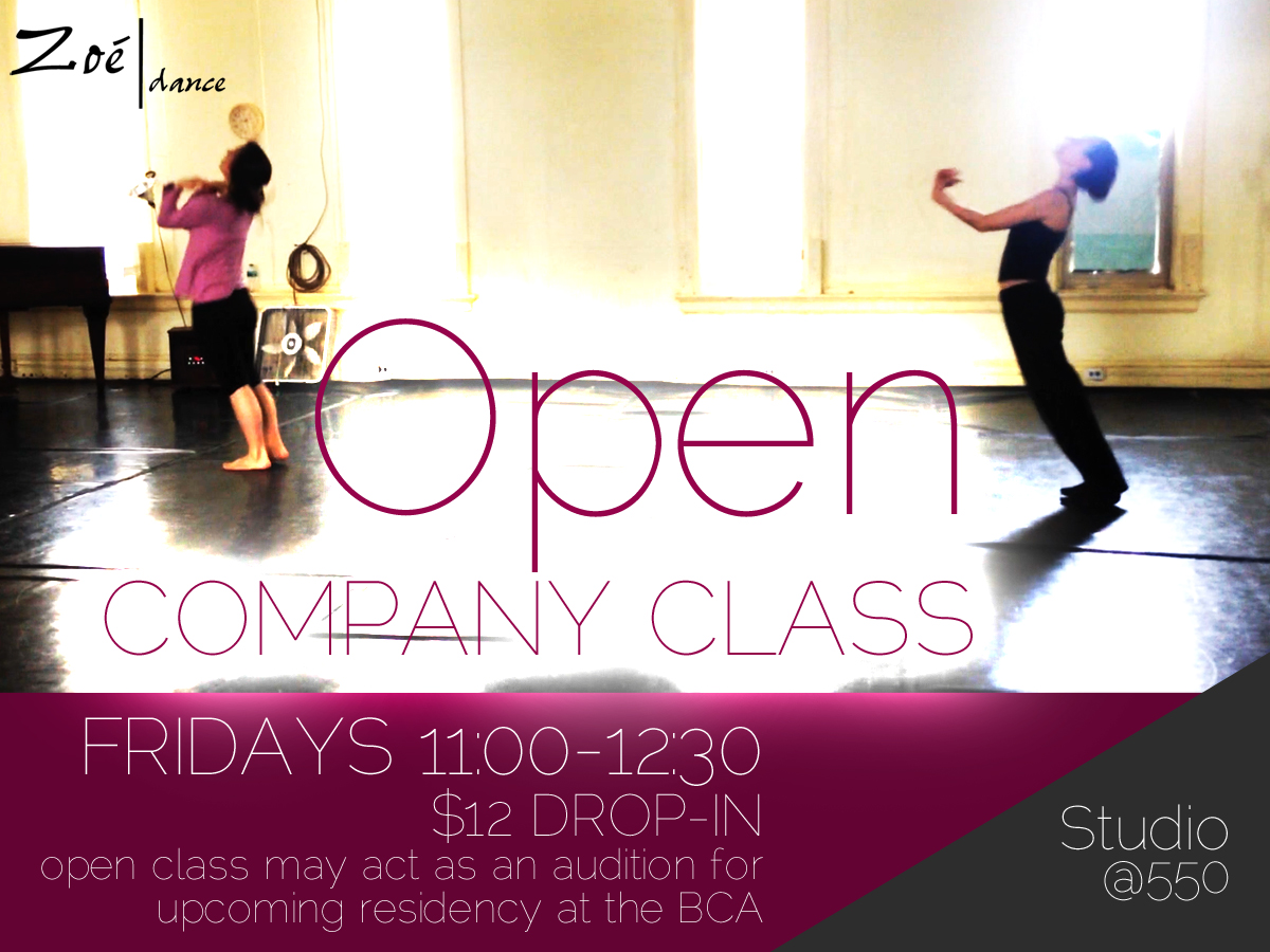 Open Company Class / Audition